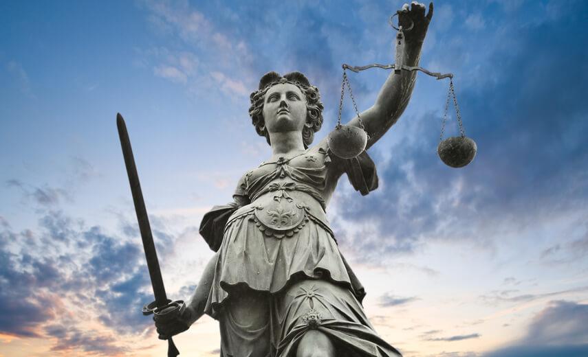 El símbolo más famoso en Derecho: La diosa de la Justicia